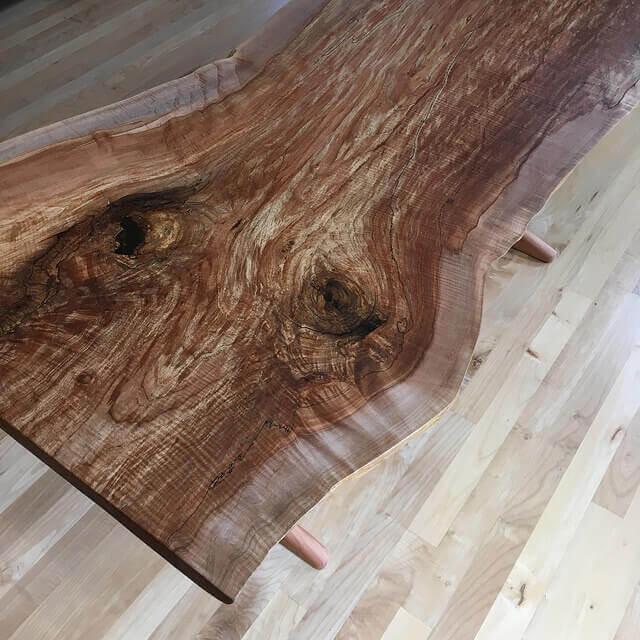 Custom Sofa Portland Oregon: Custom Live Edge Wood Furniture