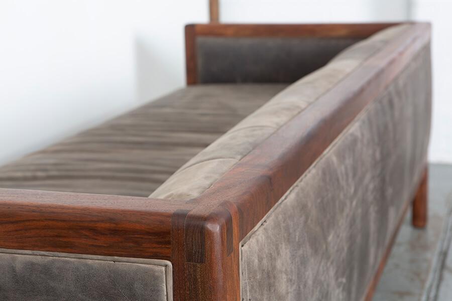 Custom Wood Sofa Couch Portland Oregon
