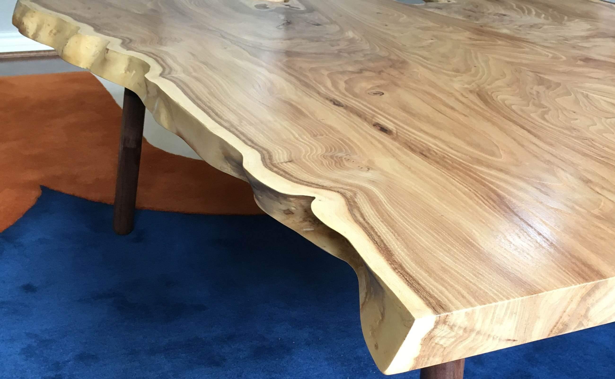Custom Live Edge Wood Furniture Portland Oregon