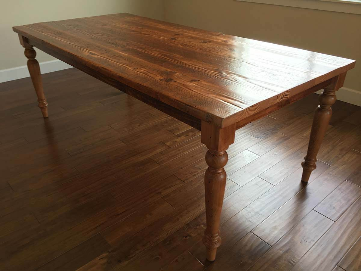 Custom Wood Dining Tables Amp Sets Portland Oregon