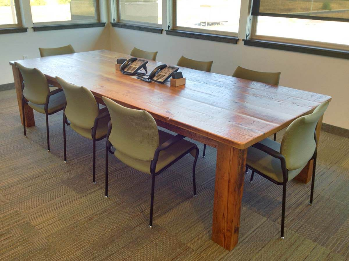 Custom Wood Conference Amp Boardroom Tables Portland Oregon